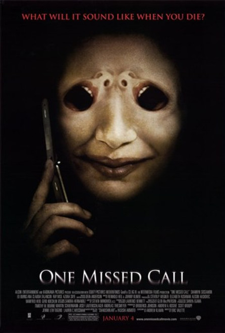 One Missed Call Movie Poster (11 x 17) - Item # MOV403638