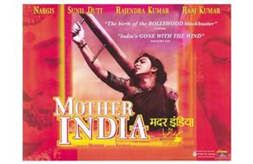 Mother India Movie Poster (17 x 11) - Item # MOV210222