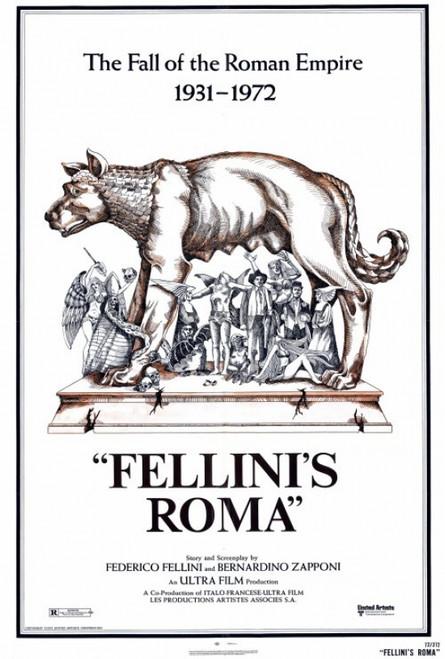 Fellini's Roma Movie Poster Print (27 x 40) - Item # MOVIF3375