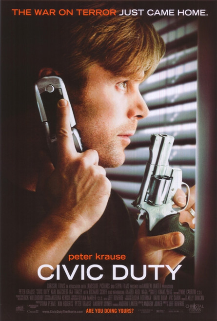 Civic Duty Movie Poster Print (27 x 40) - Item # MOVCI2043