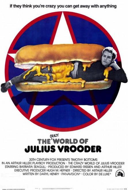 The Crazy World of Julius Vrooder Movie Poster Print (27 x 40) - Item # MOVAF4422