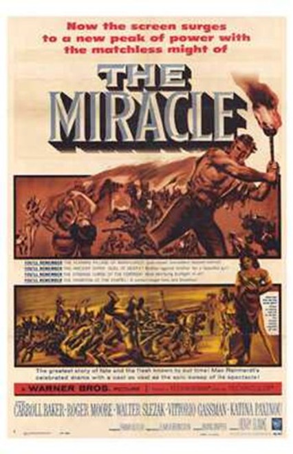 The Miracle Movie Poster (11 x 17) - Item # MOV195607