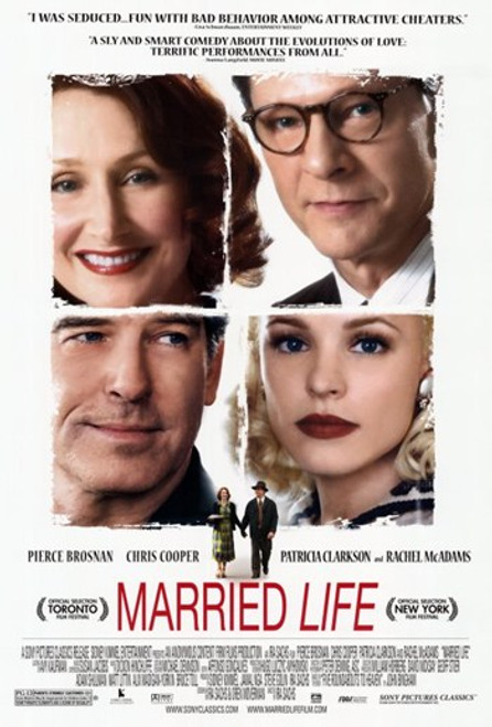 Married Life Movie Poster (11 x 17) - Item # MOV407529