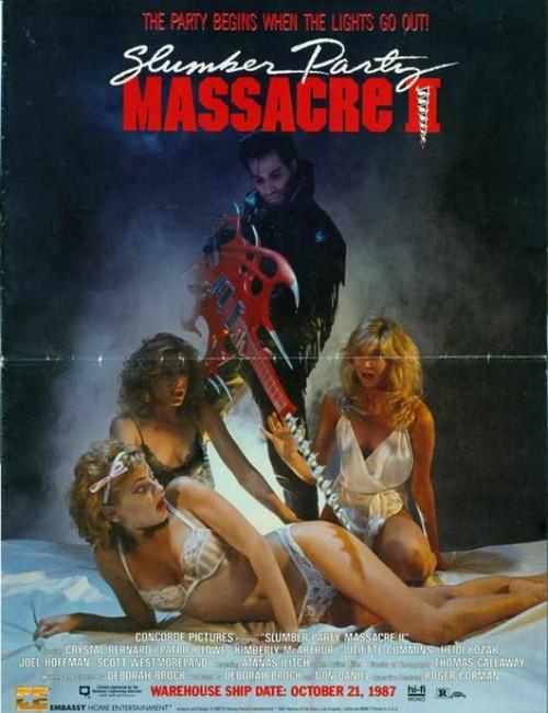 The Slumber Party Massacre Movie Poster Print (27 x 40) - Item # MOVAB70111
