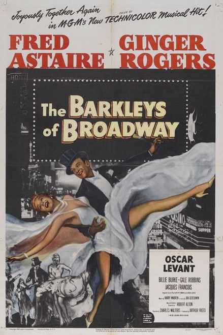 The Barkleys of Broadway Movie Poster Print (27 x 40) - Item # MOVAJ5172