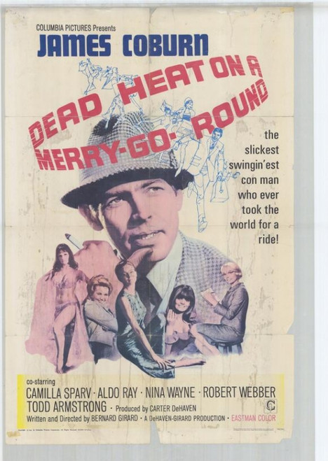 Dead Heat on a Merry-Go-Round Movie Poster Print (27 x 40) - Item # MOVEH6263