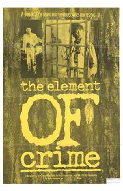 The Element of Crime Movie Poster (11 x 17) - Item # MOV203731