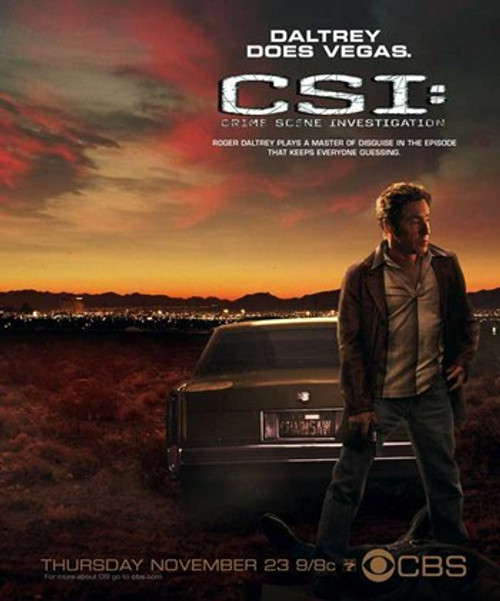 CSI Crime Scene Investigation Movie Poster (11 x 17) - Item # MOV540330