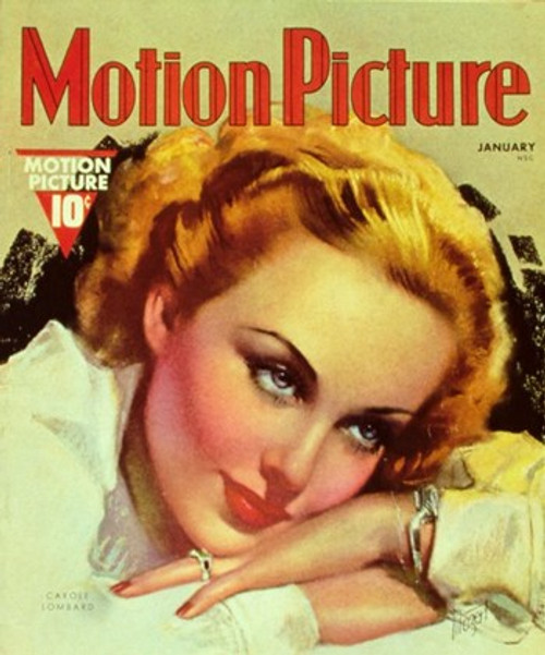 Carole Lombard Movie Poster (11 x 17) - Item # MOV251564