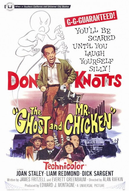 The Ghost and Mr. Chicken Movie Poster Print (27 x 40) - Item # MOVIF5180