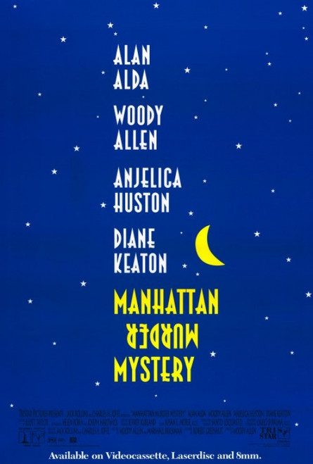 Manhattan Murder Mystery Movie Poster Print (27 x 40) - Item # MOVGF8321