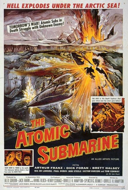 Atomic Submarine Movie Poster Print (27 x 40) - Item # MOVGF9339