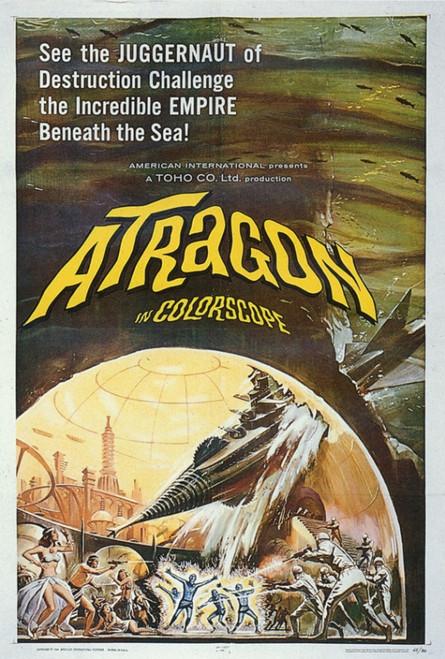 Atragon Movie Poster Print (27 x 40) - Item # MOVGF5332