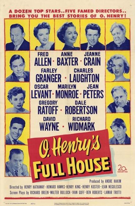 O'henry's Full House Movie Poster (11 x 17) - Item # MOV196589