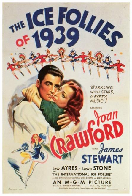 Ice Follies of 1939 Movie Poster Print (27 x 40) - Item # MOVGF1333