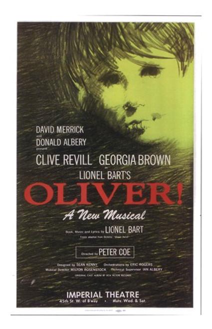Oliver (Broadway) Movie Poster (11 x 17) - Item # MOV407220