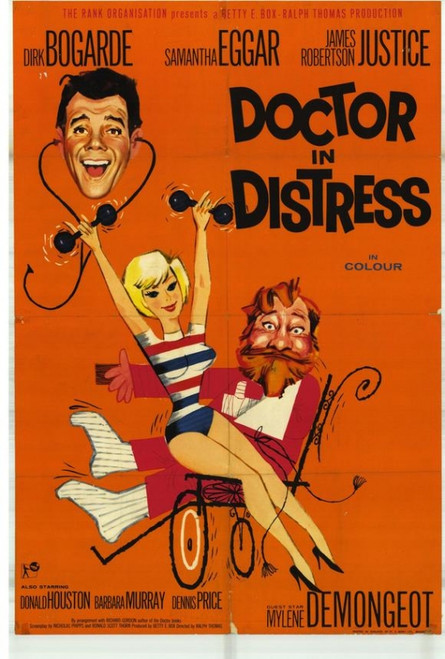 Doctor in Distress Movie Poster Print (27 x 40) - Item # MOVGF2411