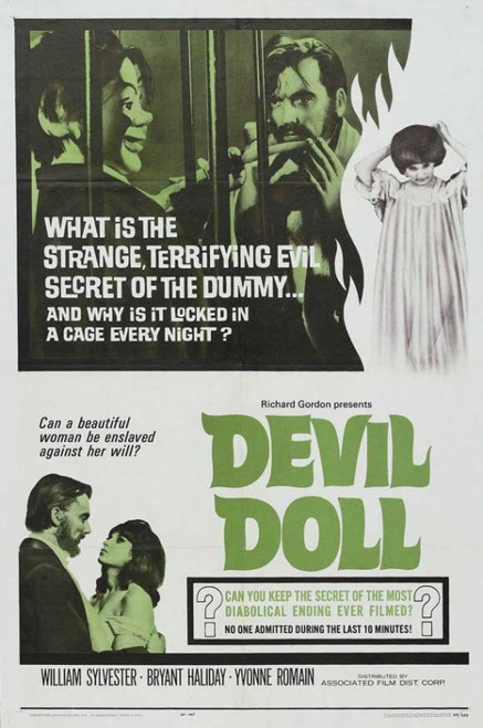 Devil Doll Movie Poster Print (27 x 40) - Item # MOVCB09310