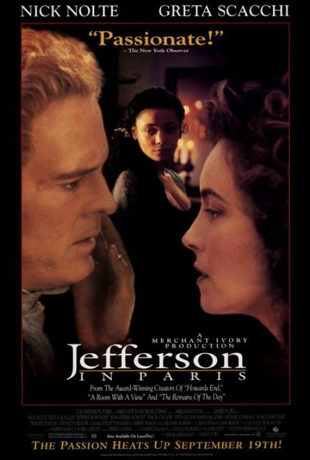 Jefferson in Paris Movie Poster Print (27 x 40) - Item # MOVGF7439