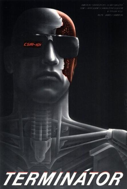 The Terminator - Czchecoslovakian - style A Movie Poster (11 x 17) - Item # MOV293652
