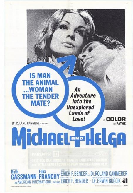 Michael and Helga Movie Poster Print (27 x 40) - Item # MOVAH0288