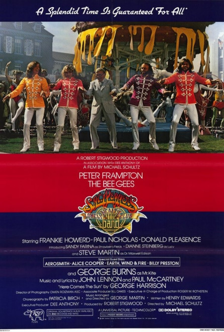 """USA Shipped Peppers Lonely Hearts Club Band Movie Poster 24x36/"""" Sgt"""