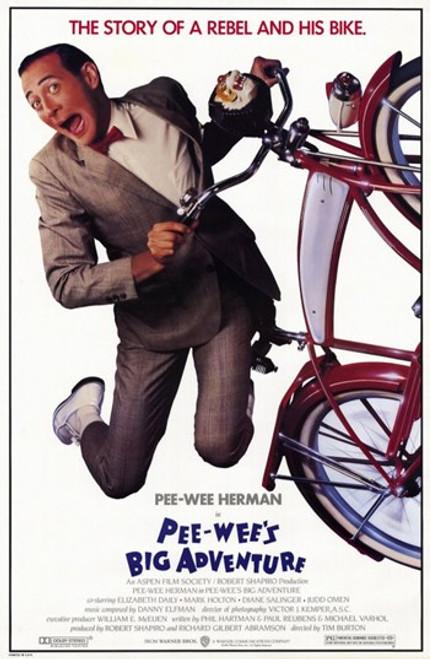 Pee-Wee's Big Adventure Movie Poster (11 x 17) - Item # MOV198255