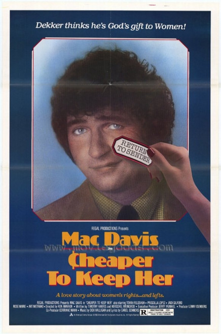 Cheaper to Keep Her Movie Poster Print (27 x 40) - Item # MOVAF3393