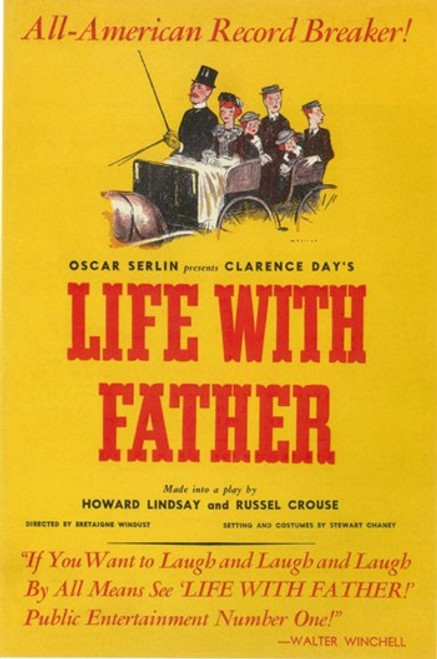 Life With Father (Broadway) Movie Poster (11 x 17) - Item # MOV407347