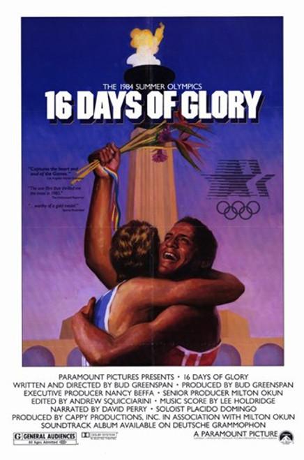16 Days of Glory Movie Poster (11 x 17) - Item # MOV256226