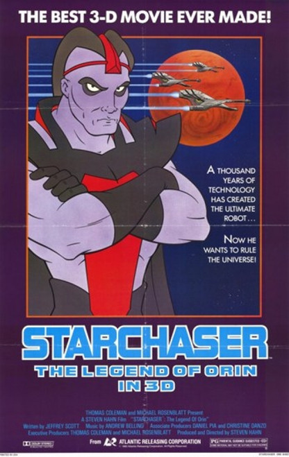 Starchaser the Legend of Orin Movie Poster (11 x 17) - Item # MOV244074