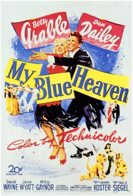 My Blue Heaven Movie Poster Print (27 x 40) - Item # MOVIF5302