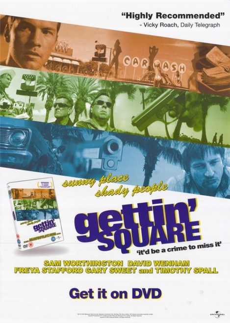 Gettin' Square Movie Poster Print (27 x 40) - Item # MOVEH3509