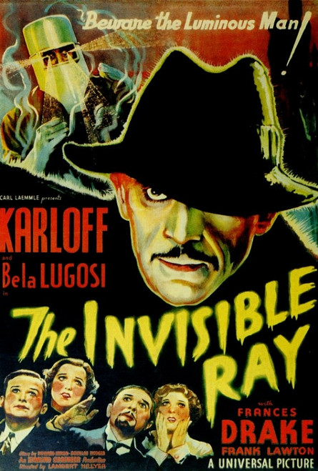 The Invisible Ray Movie Poster Print (27 x 40) - Item # MOVAF6338