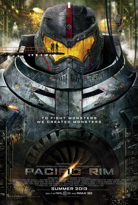 Pacific Rim Movie Poster Print (27 x 40) - Item # MOVCB53805
