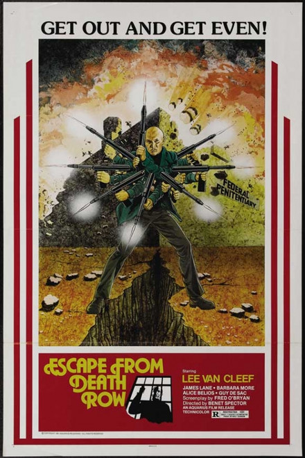 Escape From Death Row Movie Poster Print (27 x 40) - Item # MOVEH2626