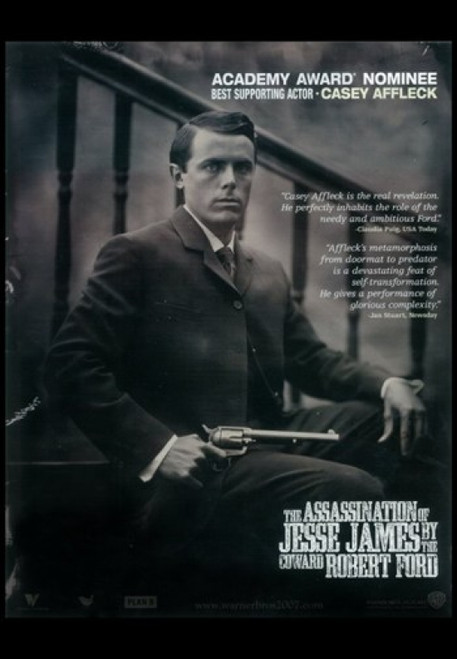 The Assassination of Jesse James by the Coward Robert Ford Movie Poster (11 x 17) - Item # MOV406921