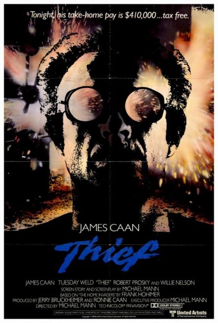 Thief Movie Poster Print (27 x 40) - Item # MOVIF9381