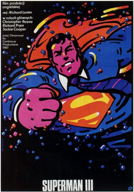 Superman 3 Movie Poster (11 x 17) - Item # MOV197461