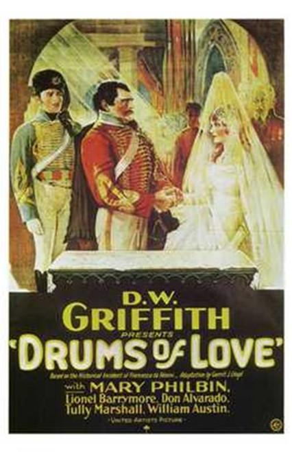 Drums of Love Movie Poster (11 x 17) - Item # MOV241706