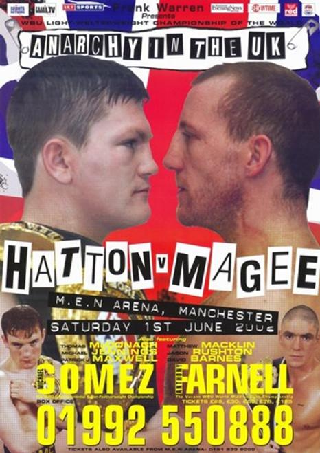 Ricky Hatton vs. Eamonn Magee Movie Poster (11 x 17) - Item # MOV274714