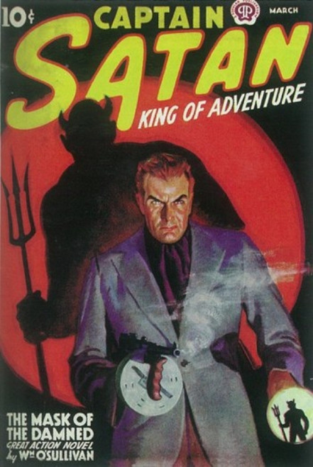 Captain Satan (Pulp) Movie Poster (11 x 17) - Item # MOV409750