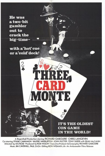 Three Card Monte Movie Poster Print (27 x 40) - Item # MOVGH9703