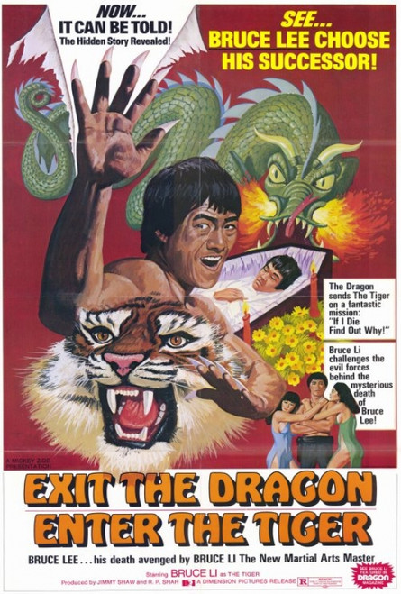 Exit the Dragon, Enter the Tiger Movie Poster Print (27 x 40) - Item # MOVGH8601