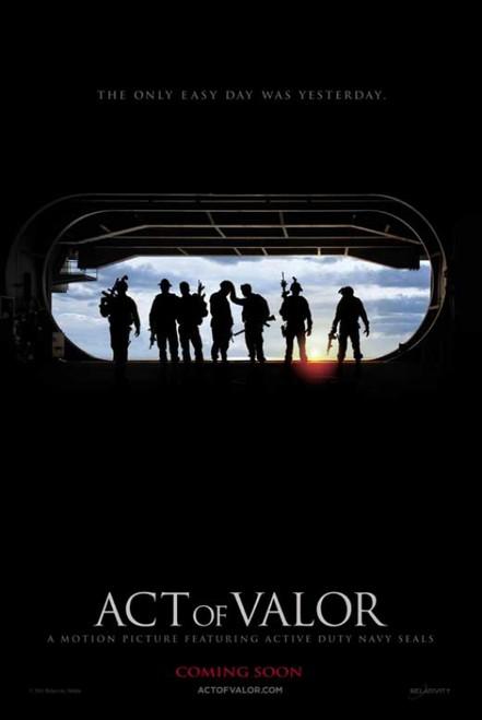 Act of Valor Movie Poster Print (27 x 40) - Item # MOVCB97824