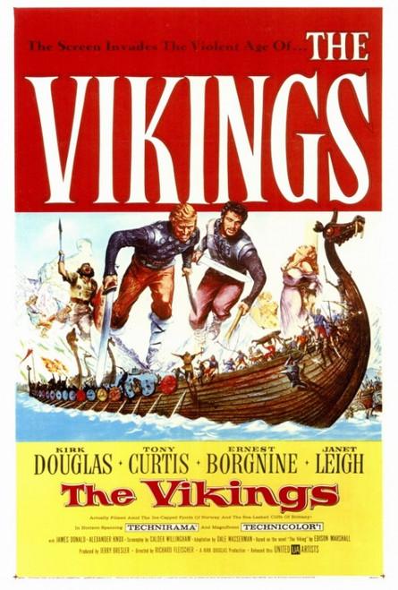 The Vikings Movie Poster Print (27 x 40) - Item # MOVAF3180