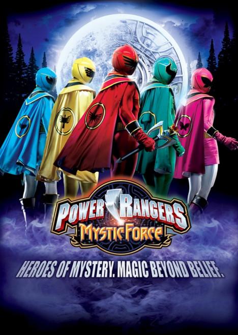 Power Rangers Mystic Force Movie Poster Print (27 x 40) - Item # MOVEI4559