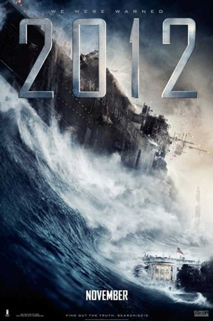 2012, c.2009 - style E Movie Poster (11 x 17) - Item # MOV515176