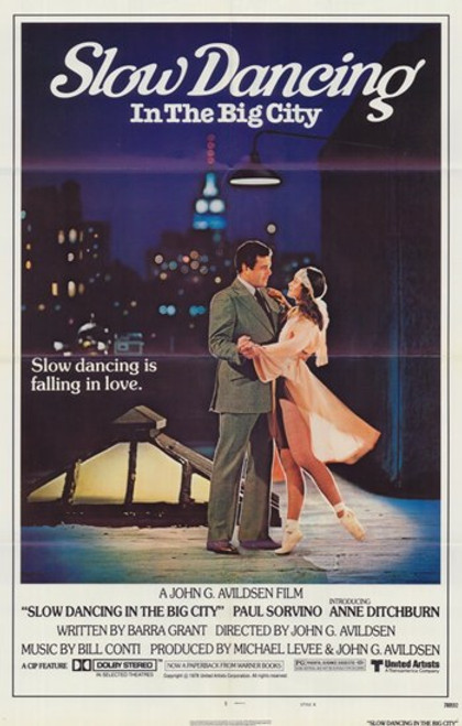 Slow Dancing In the Big City Movie Poster (11 x 17) - Item # MOV204852