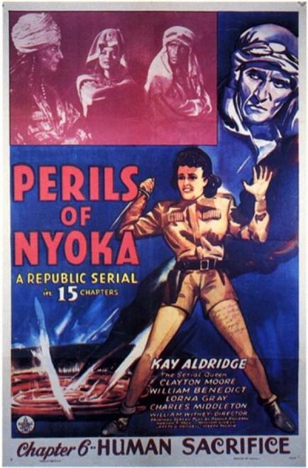 Perils of Nyoka Movie Poster (11 x 17) - Item # MOV202770